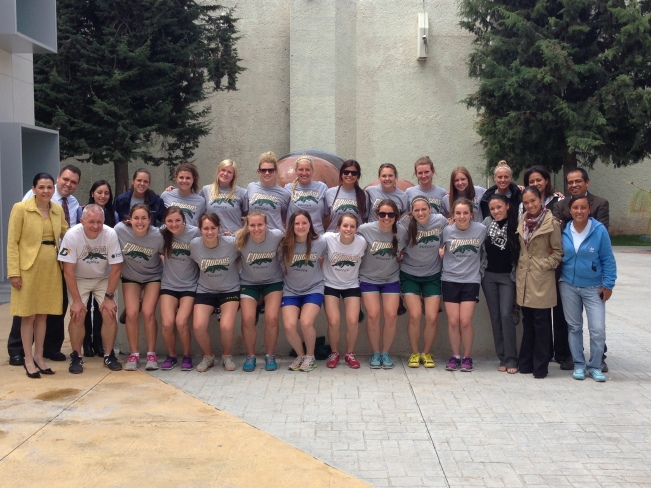 Big group picture: the team and the staff at TEC who helped us out with our two weeks here in Pachuca!