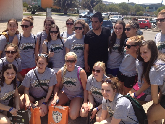 The team with #24 Miguel Angel Herrera.