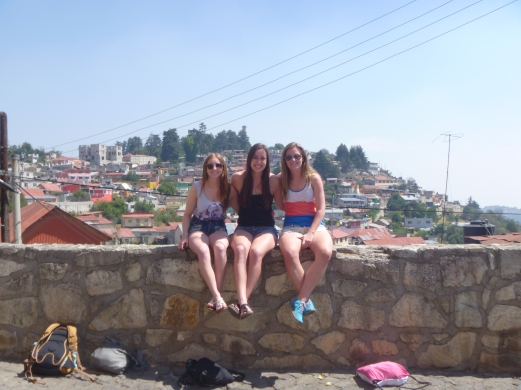 A few girls at Real de Monte